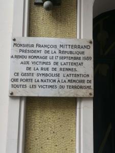plaque rue rennes